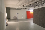 overview of site specific installation, mixed media
